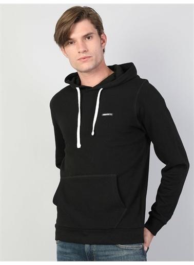 Colin's CL1045236_Q1.V2_BLK Erkek Sweatshirt Siyah